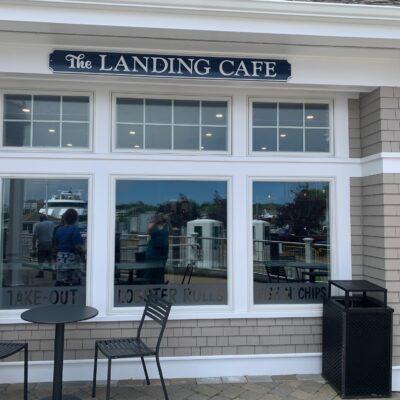 landing cafe outside